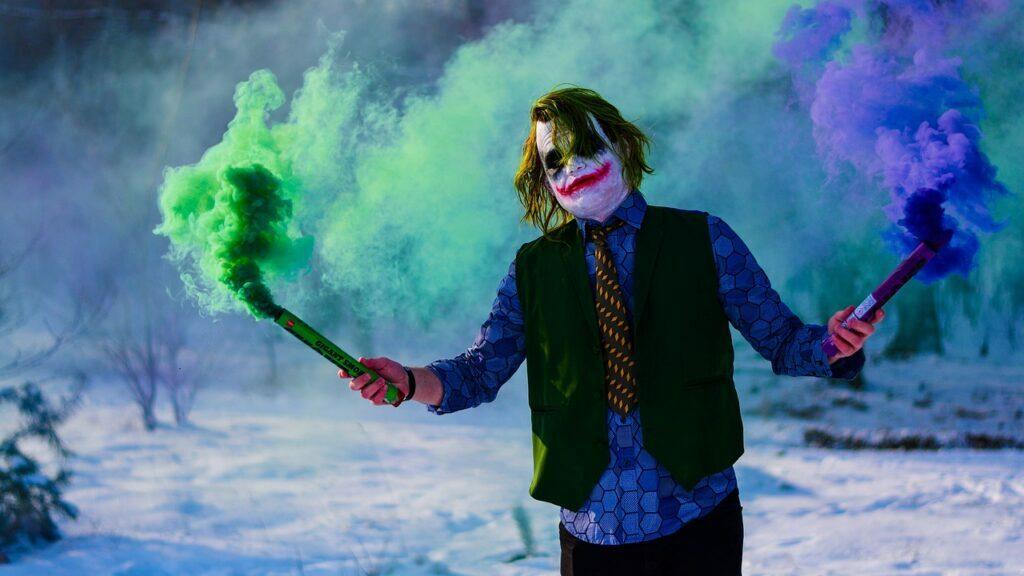 como crear un buen antagonista joker