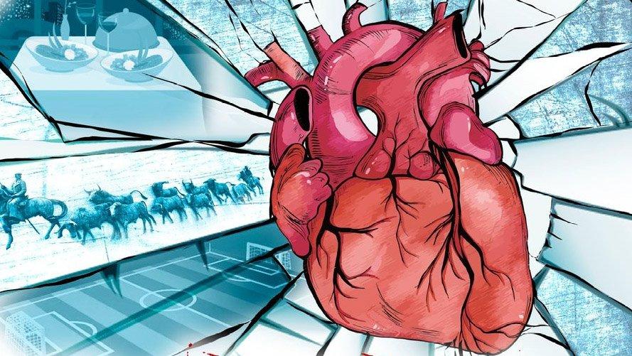 el crujido de un corazon